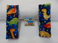 Bright Dinosaurs Child Car Seat Belt Kids Strap Covers Highchair Pram Stroller