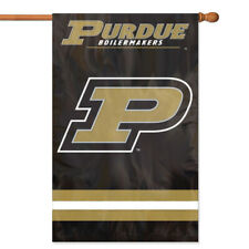 Purdue Boilermakers House Banner Flag PREMIUM Outdoor DOUBLE SIDE Embroidered