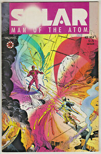 SOLAR MAN OF THE ATOM#4 VF/NM 1991 VALIANT COMICS