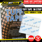 1M TEAR TUFF TAPE CANVAS AID SWAG TENT ANNEX RIPSTOP TYPE FABRIC A REPAIR KIT