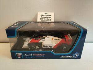 F1 McLaren Alain Prost 1986 1/18 Défaut