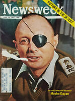 Newsweek June 19 1967 Vtg Magazine Israeli Defense Minister Moshe Dayan - GD