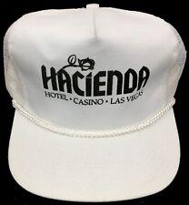 Vintage 1980's Las Vegas Hacienda Hotel & Casino Teamster Mobster Mesh Hat/Cap