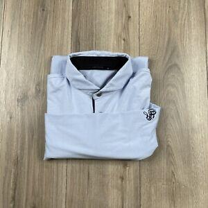 GREYSON Long Sleeve Golf Polo Shirt OLD SANDWHICH GOLF CLUB Size M Medium