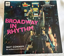 50 - RAY CONNIFF & ORCHESTRA, BROADWAY IN RHYTHM (Vinyl LP - MADE IN UK 1958)