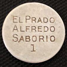 🇨🇷COSTA RICA COFFEE TOKEN • ALFREDO SABORIO • EL PRADO • 1 • 24.1mm • ALUMINUM