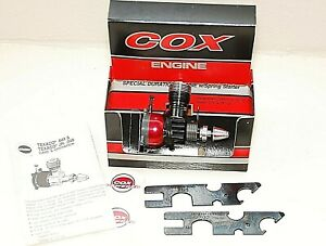 NOS Cox Texaco Jr .049 Special Duration Engine Model Airplane New In Box No.4507