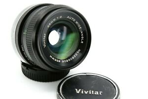 Canon Fd Vivitar 28mm 1:2 Nfd Prime Lens Wide Angle Lens /