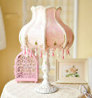 New Princess 1 Light Cloth Lampshade Height 53CM Decoration Table Light Lamp