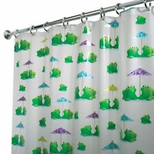 Frogs PEVA Shower Curtain