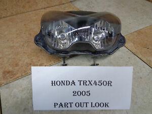 Honda TRX450R 450R  Genuine Honda Stock Headlight 33110-HP1-003 2004-07 ATV