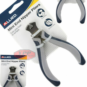 """Mini End Cutting Pliers Nippers 4"""" Electrical Wire Cutter Jewelry Tool Allied"""