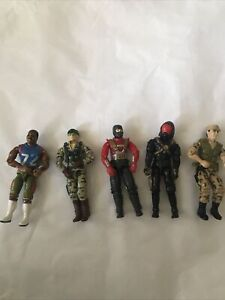 GI Joes From The 80's. Lot Of 5  Very Nice condition