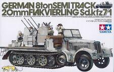 Sd.Kfz. 7/1 - 8t Halbkettenfahrzeug mit 20mm Flakvierling - 1:35 - Tamiya 35050