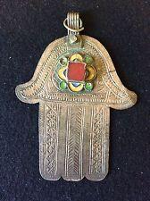BELLE MAIN KHAMSA bijoux berbère Maroc ancien AL- MAGHRIB Morocco