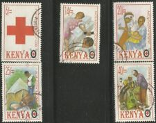 KENYA 1996 RED CROSS Sc#68791 COMPLETE VFU SET 2597
