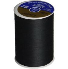 Coats & Clark BLACK Thread 100% Polyester All Purpose 400 Yards per Spool