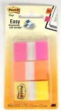 3m Post It Post It Flags Bright Colors Assorted 3 Colors 60 Pcs School Bookmark