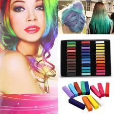 36 Colour Temporary Salon Hair Colour Dye Chalk Soft Pastel Set Kit Men Women