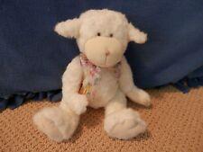 "Boyds Bears White Lamb - ""Liza Fuzzyfleece"""