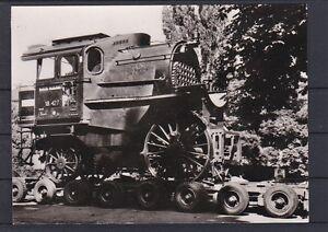 Eisenbahn Motivkarte mit Teilstück einer Dampflokomotive 18 427 SCAN LESEN