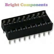 20 x neuf 18 broches dil dip ic socket - 1st classe post