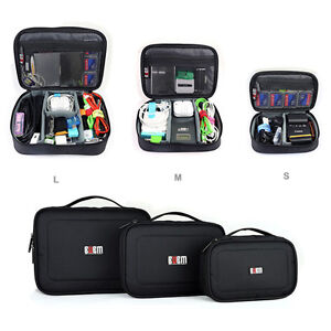S M L New BUBM Universal Travel Case for Electronics and Accessories Storage Bag