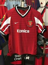 Boys Valletta FC away football shirt size 140-152 11-12 years Nike 2001-2002