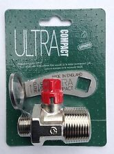 """Ultra Compact Oil Tank Valve Plus """"Hook Over"""" 304 Stainless Steel Operating Key"""