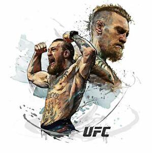Fanart Conor McGregor UFC Boxing 2021 Poster Art Print 16x16 24x24 30x30