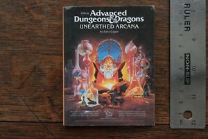 Unearthed Arcana 21st Century Mini Reprint AD&D TSR2017 Silver Anniversary 1999