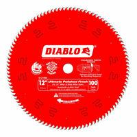 """Freud Diablo D12100X Circular Saw Blade, 12"""" Blade Dia., 100 Teeth ATB 1"""" Arbor"""