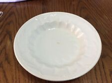 Vintage Ironstone Bowl White With A Wheat Pattern
