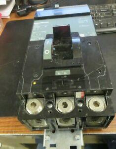 SQUARE D 400 AMP, 3 POLE, 600 VOLT LA36400 CIRCUIT BREAKER (VERY NICE)