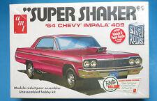 "AMT 1/25 1964 Chevy Impala 409 ""Super Shaker""  Plastic Model Kit 917 AMT917"