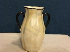 Vintage Luster Double Handle Czecho Slovakia Vase