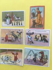 Older Circus Stamps From Germany And Other. European Nations