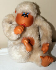 """White Gorilla Stuffed Animal - 7 1/2"""" Excellent Condition - Low Starting Price"""