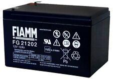 Batteria FIAMM AGM pannelli solari fotovoltaici 12 Ah