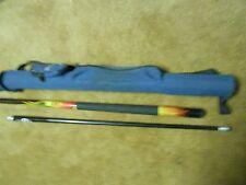 """Great  SPORTCRAFT """"Fiberglass"""" 58.25"""" 2 piece Cue Stick with Carry Case"""
