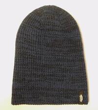 Vans Off The Wall Mismoedig Beanie Blue Black Marled Hat 100% Acrylic New NWT