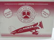 EASTWOOD AUTOMOBILIA STK#130500 MID ATLANTIC AIR MUSEUM AIRPLANE BANK