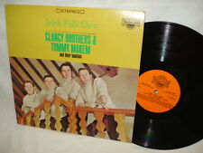 Clancy Brothers & Tommy Makem and Their Families Irish Folk Airs - LP Album