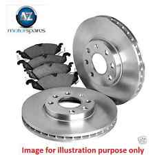 FOR Volvo V50 D5 T5 ESTATE ONLY 2004-2006 New FRONT Discs 320MM + Pads Set KIT
