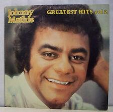 "33 tours JOHNNY MATHIS Disque Vinyl LP 12"" GREATEST HITS VOL 2 - CBS 84637 RARE"