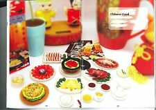 Orcara Chinese Food Miniature re-ment set X 8
