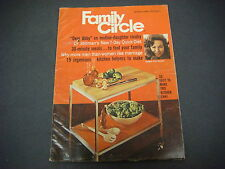 Family Circle Magazine,March 1969 Dear Abby 7 Day Quick Diet Meals Family M1742