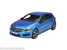 Norev 2012 Mercedes Benz A 250 Sport Blue 1/18 Diecast Car 183595