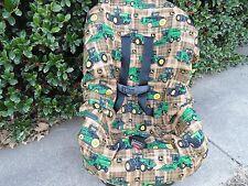 John Deere toddler car seat cover-new-handmade