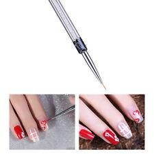 Nail Art Line Drawing Brushes+Dotting Pen Detailer Liner and Striper Tool Set PK
